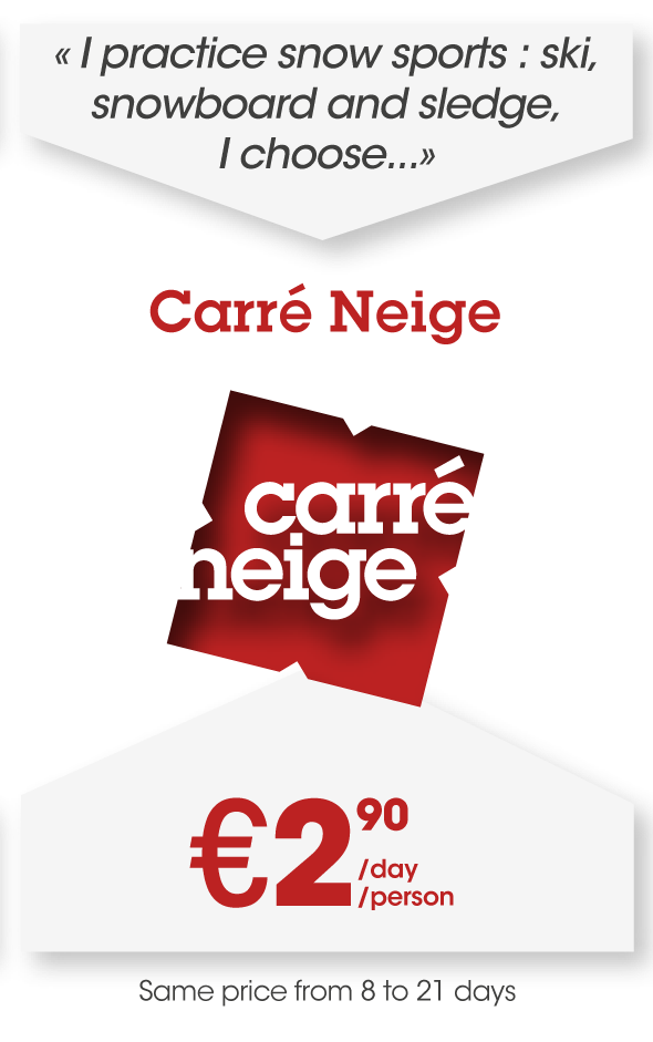 Carré Neige offer